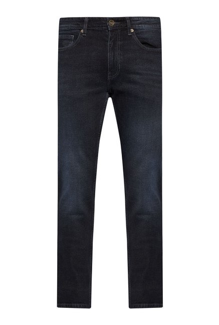 Westsport by Westside Navy Lightly Washed Jeans