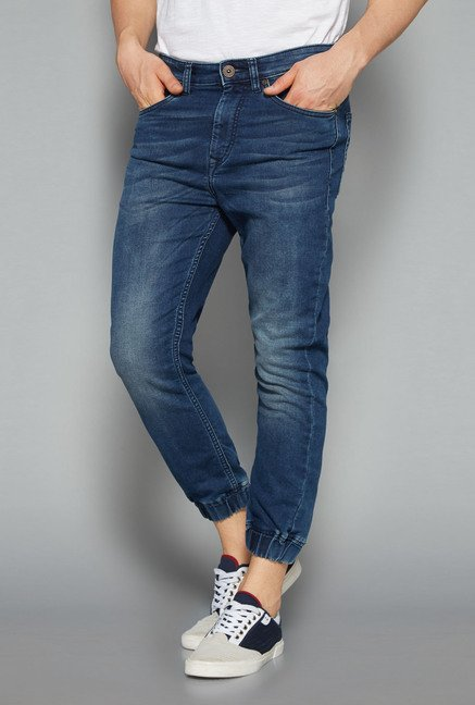 Nuon by Westside Blue Slim Fit Hendrix Jeans