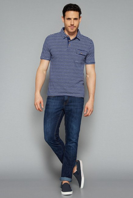 Westsport by Westside Navy Polo T Shirt