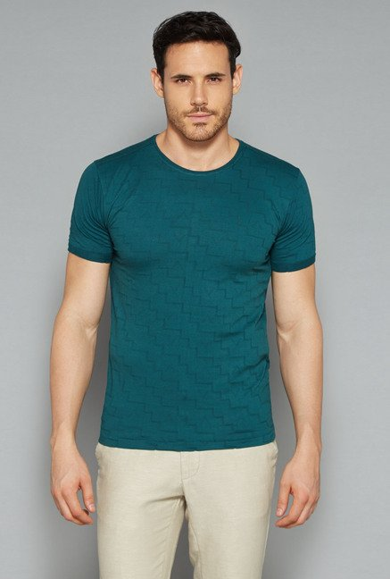 ETA by Westside Green Self Print T Shirt