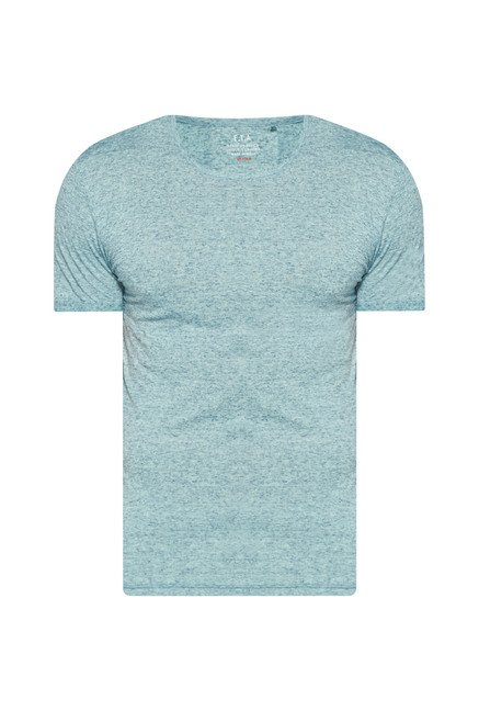 ETA by Westside Aqua Slim Fit T Shirt