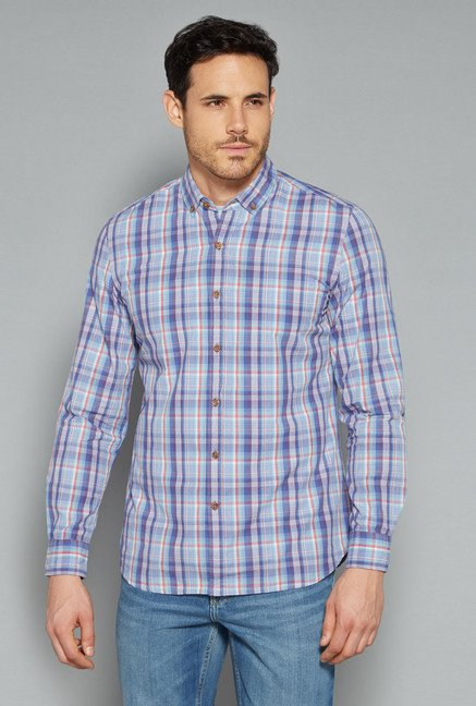 Westsport by Westside Multicolor Checks Shirt