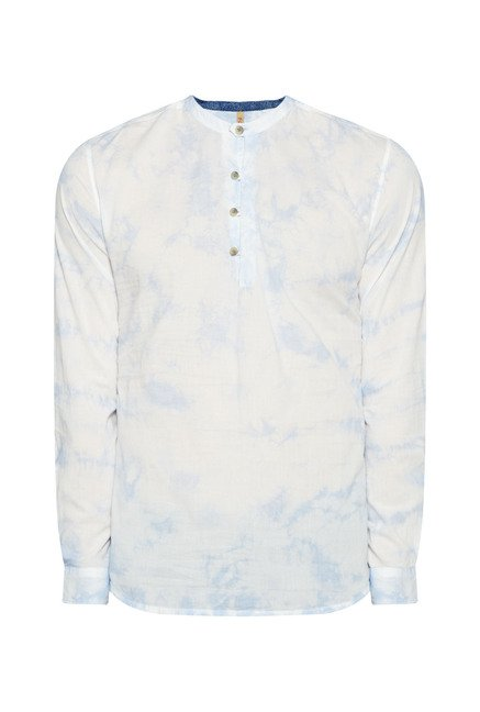 ETA by Westside Off White Printed Shirt