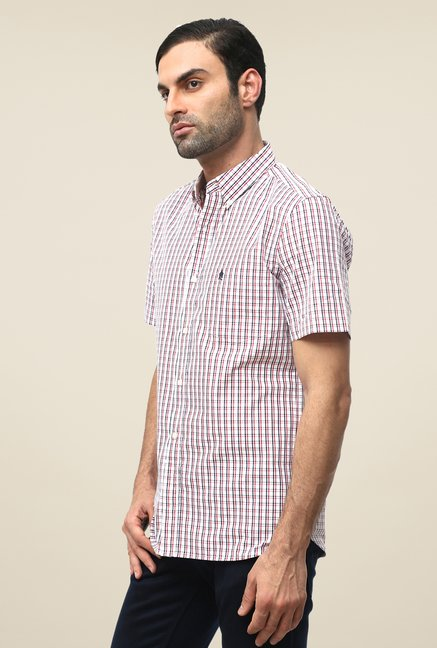 FCUK Red Checks Shirt