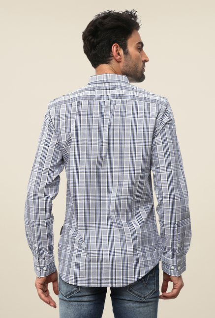 FCUK Grey Checks Shirt
