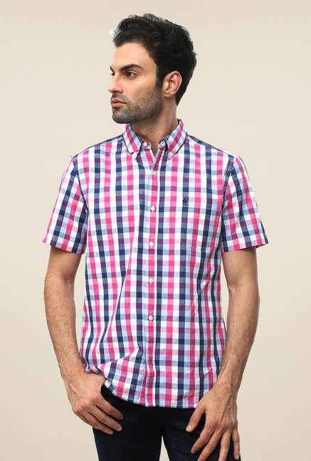 FCUK Pink Checks Shirt