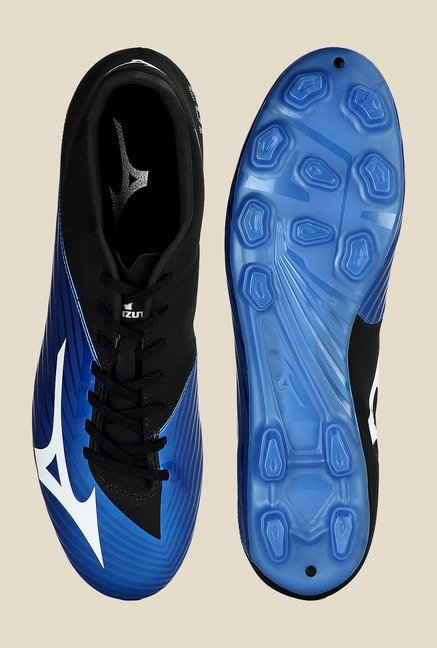 Mizuno Basara 103 MD Blue & Black Football Shoes