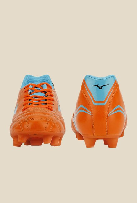 Mizuno Monarcida FS MD (Wide) Orange & Blue Football Shoes