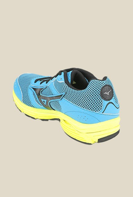 Mizuno Wave Impetus 3 Blue & Black Running Shoes