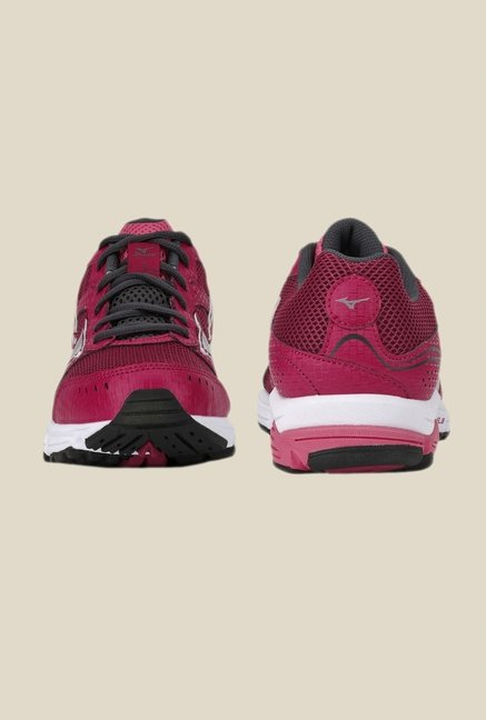 Mizuno Wave Impetus 3 Pink & Red Running Shoes