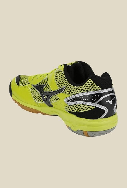 Mizuno Wave Twister 4 Yellow & Black Sports Shoes
