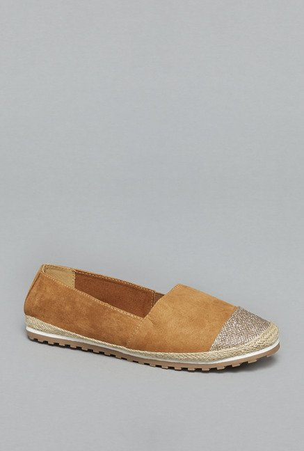 Head Over Heels by Westside Tan Espadrille Shoes