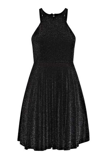 Nuon by Westside Black Embellished Dress