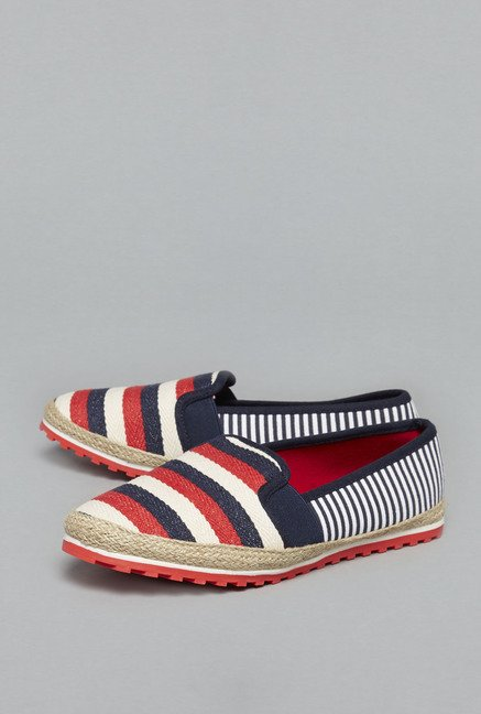Head Over Heels by Westside Multicolor Espadrille Shoes