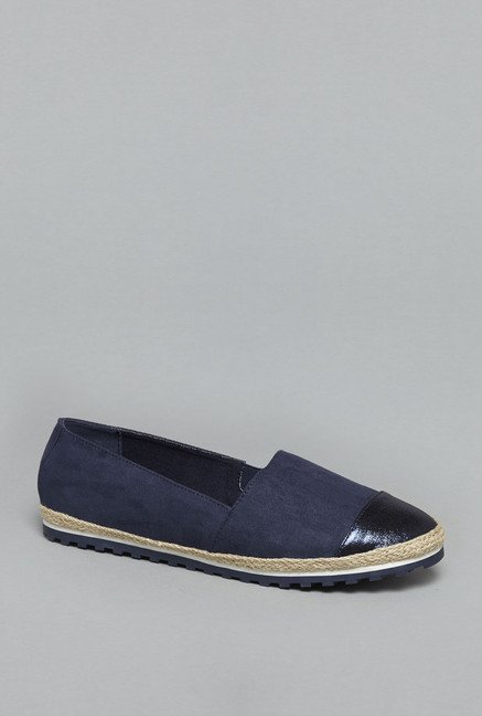 Head Over Heels by Westside Navy Espadrille Shoes