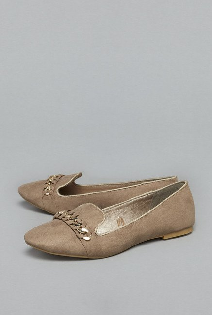 Head Over Heels by Westside Beige Loafers