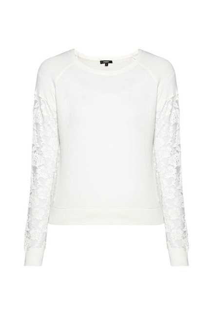 Nuon by Westside White Solid Top