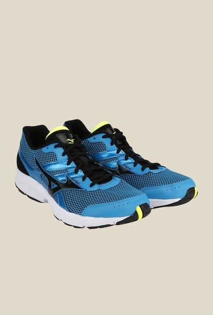 Mizuno Spark Blue & Black Running Shoes