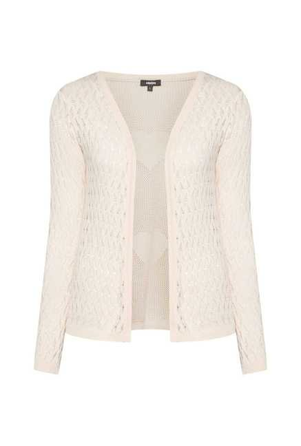 Nuon by Westside Pink Crochet Jacket