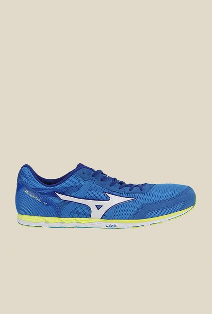 Mizuno Wave Ekiden 10 Blue & White Running Shoes