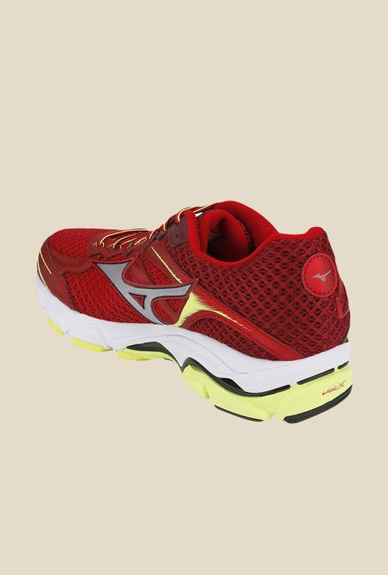 Mizuno Wave Ultima 7 Red & Silver Running Shoes
