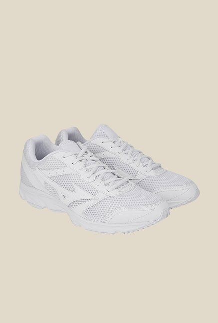 Mizuno Maximizer 18 White Running Shoes