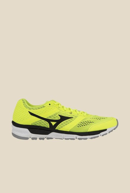 Mizuno Synchro M Green & Black Running Shoes