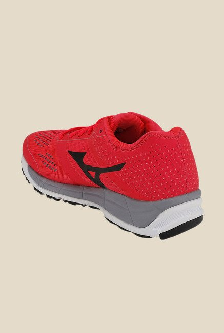 Mizuno Synchro MX Red & Black Running Shoes