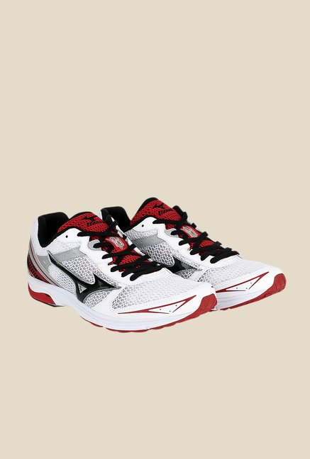 Mizuno Wave Emperor TR Wide White & Black Running Shoes