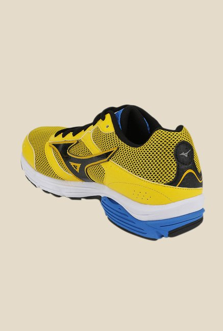 Mizuno Wave Impetus 3 Yellow & Black Running Shoes