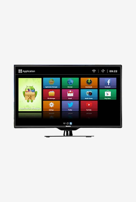 Weston WEL-4000S 99.06Cm (39 Inch) Smart LED TV (Black)