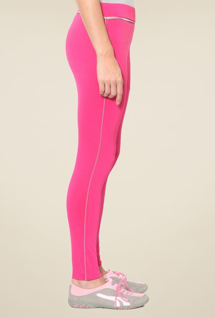 Sweet Dreams Chalk Pink Solid Trackpant