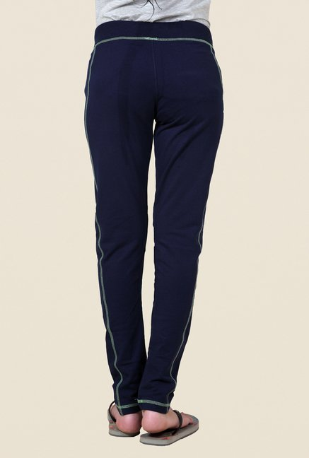 Sweet Dreams Nick Navy Solid Trackpant