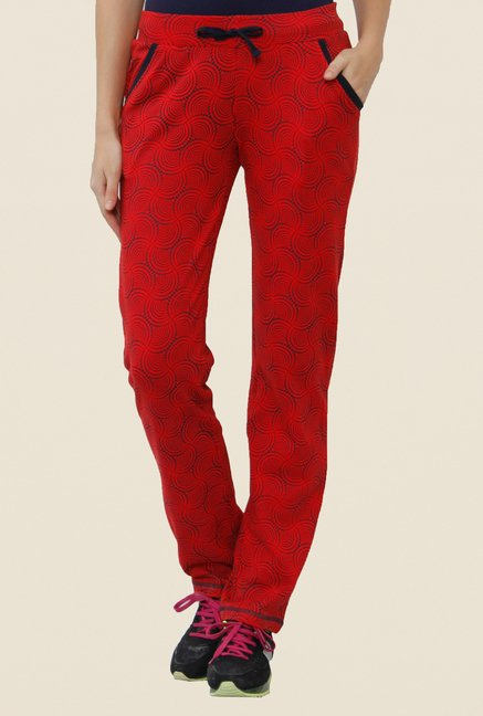 Sweet Dreams Blood Red Solid Trackpant