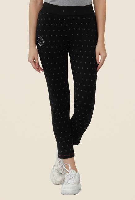 Sweet Dreams Black Solid Trackpant