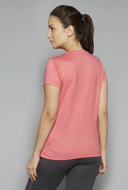 Westsport by Westside Coral Printed T Shirt