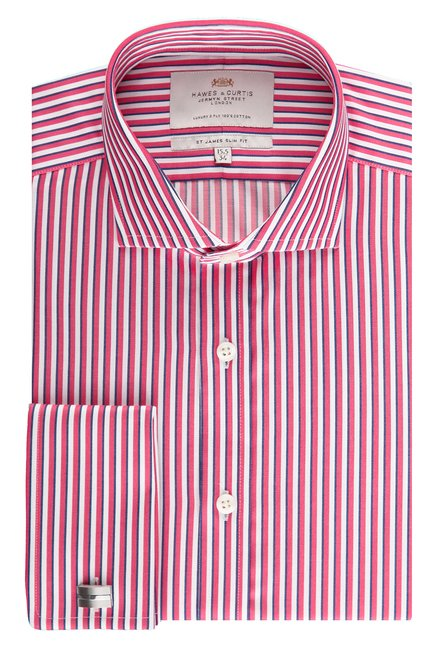 Hawes & Curties Pink Windsor Collar Shirt