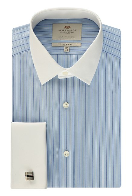 Hawes & Curties Blue Striped Shirt