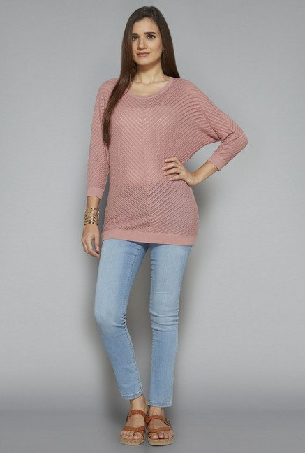LOV by Westside Pink Nexus Top