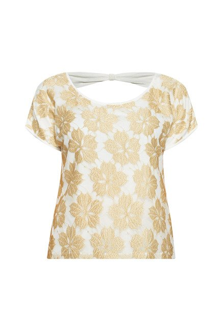 Sassy Soda by Westside White Lara Blouse