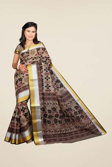 Salwar Studio Multicolor Printed Saree