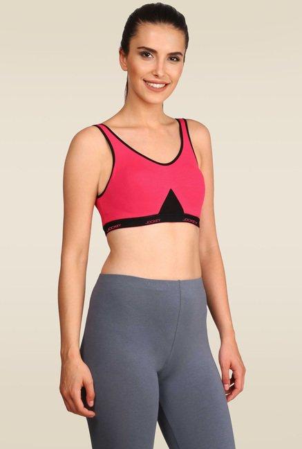 1f6f621523 Buy Jockey Ruby Slip On Active Bra - 1376 for Women Online   Tata CLiQ