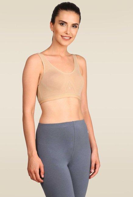 a66b7096f6 Buy Jockey Skin Slip On Active Bra - 1376 for Women Online   Tata CLiQ