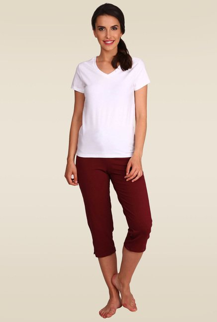12a6a39463c9 Buy Jockey Chocolate Truffle Capri Pants - 1300 for Women Online ...