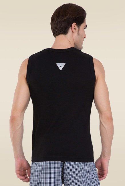 7495a293c7ad7 Buy Jockey Black Muscle Tee - 9930 for Men Online   Tata CLiQ