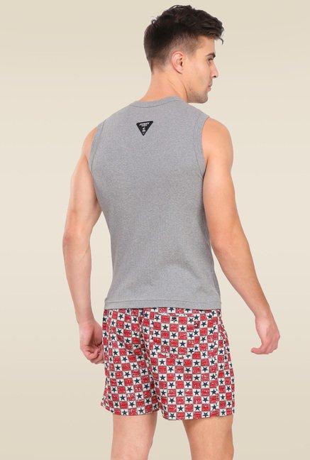 ba5ca16078bc9 Buy Jockey Grey Melange Muscle Tee - 9930 for Men Online   Tata CLiQ