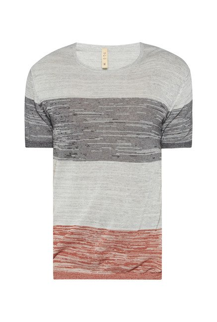 ETA by Westside Grey Printed T Shirt