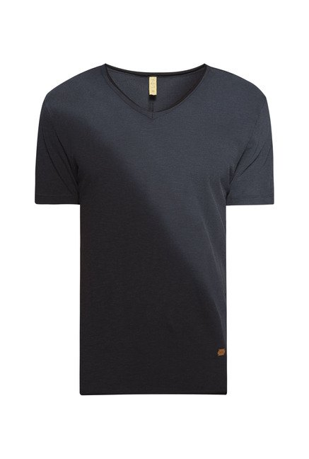 ETA by Westside Grey Solid T Shirt