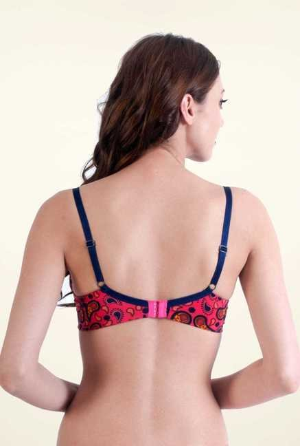 Bwitch Pink Front Open Bra