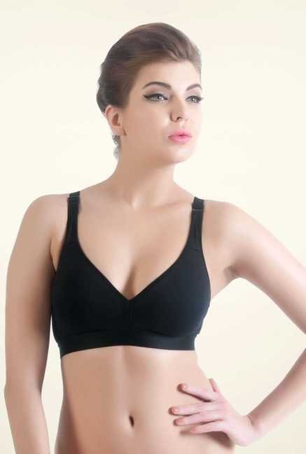 Bwitch Black Seamless Bra